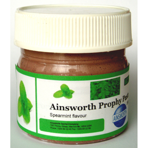 Ainsworth Prophy Paste Spearmint - Medium 200gm Jar