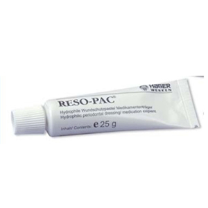 Hager & Werken Reso-Pac Intraoral Perio Dressing, Hydrophillic Wound Protection Paste 25gm