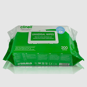 Clinell Universal Wipes - 200 Pack