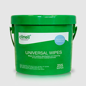 Clinell Universal Wipes - 225Wipe Bucket