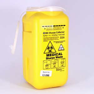 BD Sharps Collector - 1.4 litre, Tray Size