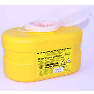 BD Sharps Collector - 3 litre, Small