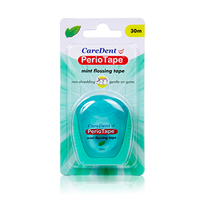CareDent PerioTape - 30m Mint, 3940 - Pack 6