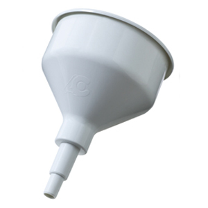 Cattani Spittoon Funnel - Autoclavable, White