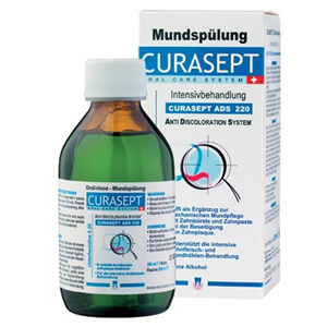 Curaden Curasept Chlorhex Mouthrinse - 0.20%, ADS220, 200ml