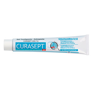Curaden Curasept Toothpaste Gel - 0.12% with Chlorhex, 75ml, ADS712