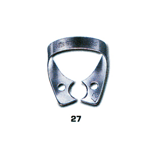 Dentech Rubber Dam Clamp Bicuspid Stainless Steel 27
