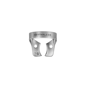 Dentech Rubber Dam Clamp Molar Stainless Steel 28