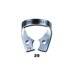 Dentech Rubber Dam Clamp Bicuspid Stainless Steel 29