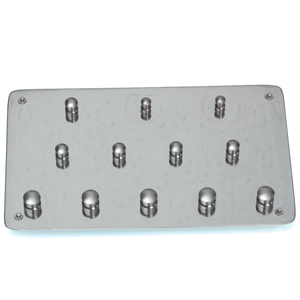 Dentech Rubber Dam Clamp Board #12 Without Clamps