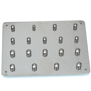 Dentech Rubber Dam Clamp Board #18 Without Clamps