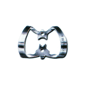 Dentech Rubber Dam Clamp Labial Stainless Steel 6 for Labial Cavities