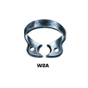 Dentech Rubber Dam Clamp Bicuspid Stainless Steel W2A