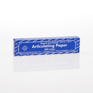 Bausch 40micron Micro-Thin Articulating Paper - Blue in 2 Booklets, BK-09