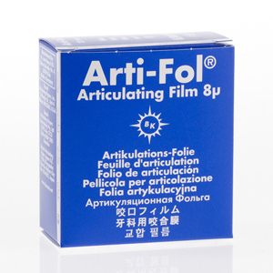 Bausch Arti-Fol Plastic 8micron 22mm one-sided 20m - Blue, BK-23