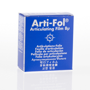 Bausch Arti-Fol Plastic 8micron 22mm 2-sided 20m - Blue, BK-27