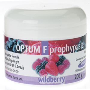 Dentalife Optum F Prophy Paste with Fluoride - Wildberry 200gm