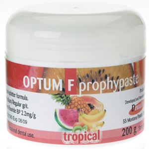 Dentalife Optum F Prophy Paste with Fluoride - Tropical 200gm