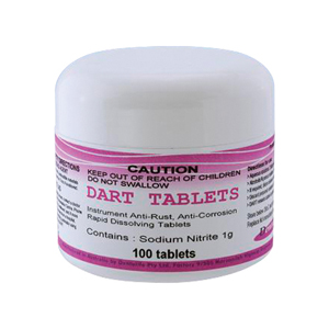 Dentalife DART Anti Rust and Corrosion Tablets - Pack 100