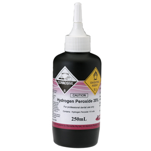 Dentalife Hydrogen Peroxide 35% - 250ml Dispenser Bottle
