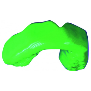 Erkoflex Mouthguard Blank - 125mm Square, 4.00mm, Bright Green - Pack 5