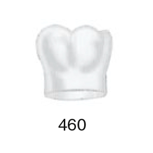 Frasaco Strip Crown Form 460 First Molar, Lower Right - Vial 5