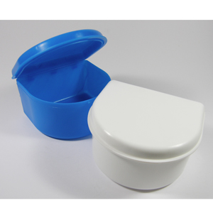 Unident Denture Bath - Blue