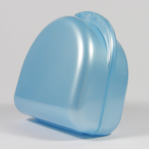 Unident Denture Box - Pearl Blue