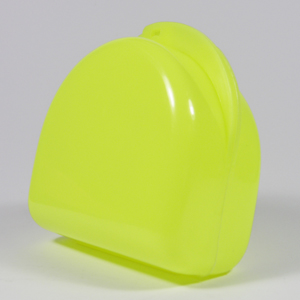 Unident Denture Box - Fluoro Yellow