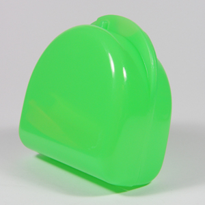 Unident Denture Box - Fluoro Green