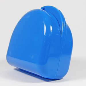 Unident Denture Box - Fluoro Blue