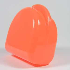 Unident Denture Box - Fluoro Orange