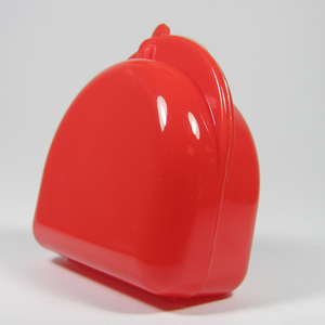 Unident Mouthguard Box - Fluoro Red