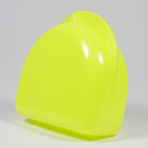Unident Mouthguard Box - Fluoro Yellow