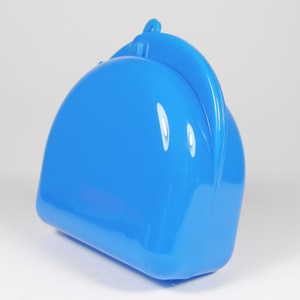 Unident Mouthguard Box - Fluoro Blue