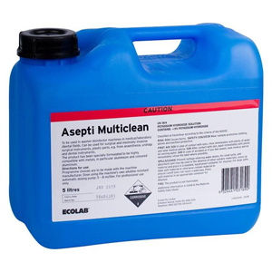 Ecolab Asepti Multiclean 5 Litre Bottle - 2 Pack