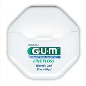 Gum Floss Waxed Fine 50m