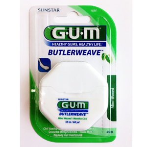 Gum Floss ButlerWeave Waxed, Mint 50m, 1855