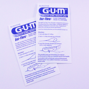 Gum Eez-Thru Floss Threaders, 840 - 5 Pack, Box 100