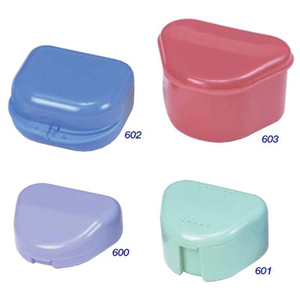 Premium Plus Denture Box Bath Assorted, 603A - Pack 10
