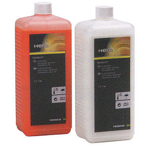 Kulzer Heraform Duplicating Silicone Type A & B - White 1kg Orange 1kg