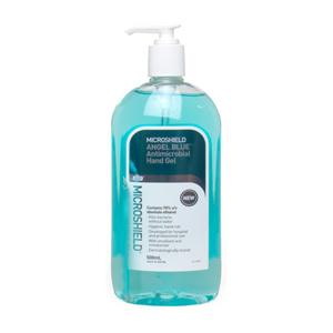 Microshield Angel Blue Antimicrobial Hand Gel 500ml