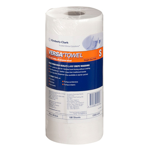 Kimberly Clark Versa Towel - Small 24.5x41.5cm, 100 sheets, 4210 - 16 Rolls