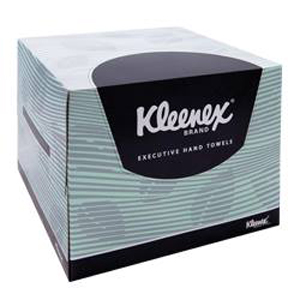 Kleenex Executive Hand Towel - White 32x32.5cm, 75 sheets, 4480 - 6 Boxes