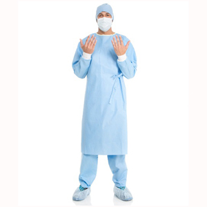 Kimberly Clark Surgical Gown Sterile Non-Reinforced with Towel Large - Pack 36