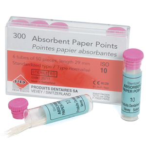 PD Paper Points 40 Vial of 50 - Pack 6