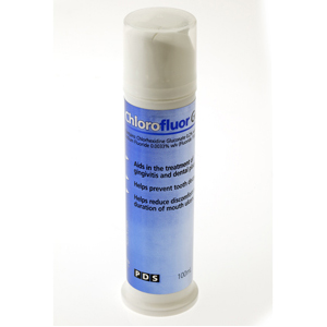 PDS Chlorofluor Gel 0.2% - 100ml Pump