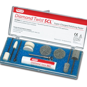 Premier Diamond Twist SCL Extra-Oral Polishing Kit