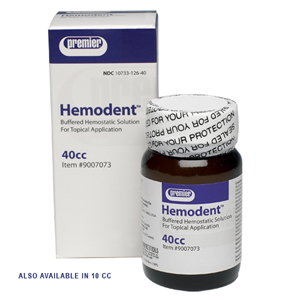 Premier Hemodent Liquid 10ml bottle