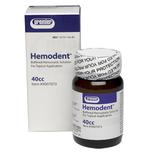 Premier Hemodent Liquid 40ml bottle
